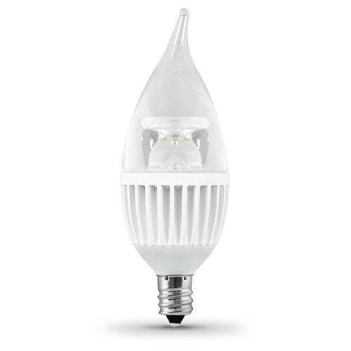 feit led dimmable chandelier candelabra base light bulb at menards. Black Bedroom Furniture Sets. Home Design Ideas