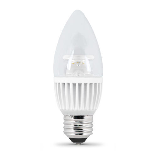 Feit Dimmable Chandelier Led Light Bulb At Menards