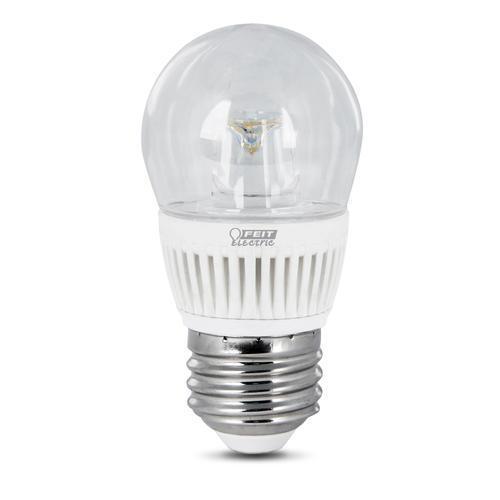 Feit Led Dimmable A15 Shape Clear Medium Base Light Bulb