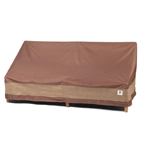 duck covers ultimate 54 w patio loveseat cover at menards