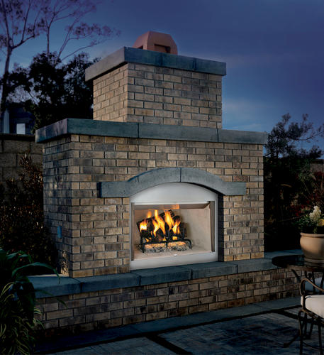 42 Stainless Steel Wood Burning Outdoor Fireplace Insert Only At Menards
