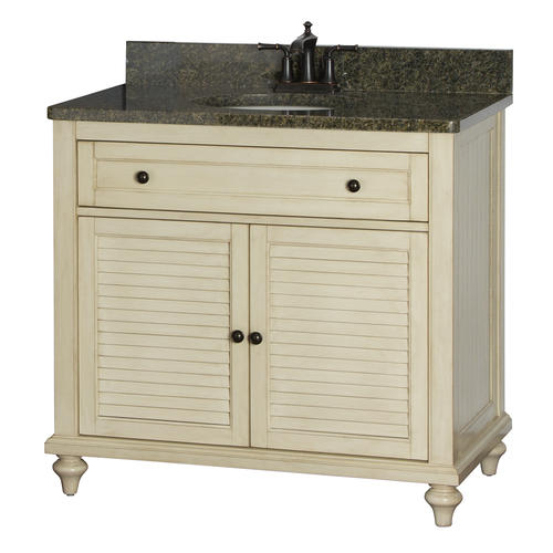 Fairchild 37 1 4 x 22 cottage style vanity at menards for Cottage style bathroom vanities cabinets