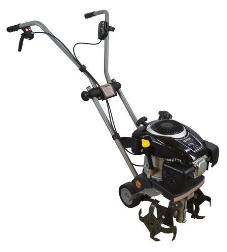 Dirty hand tools 15 inch front tine tiller with kohler for Gardening tools menards