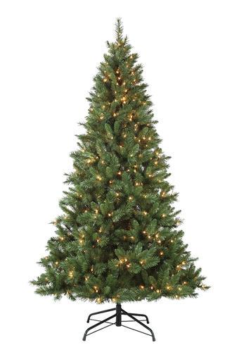 Enchanted Forest® 7.5' Prelit Fremont Artificial Christmas Tree at Menards® - Enchanted Forest® 7.5' Prelit Fremont Artificial Christmas Tree At