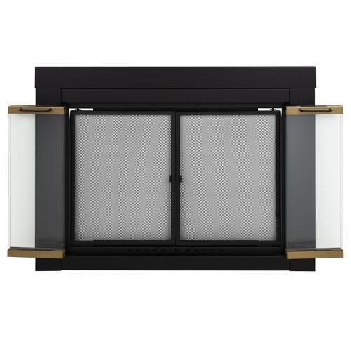 Austin Bi Fold Style Fireplace Door at Menards