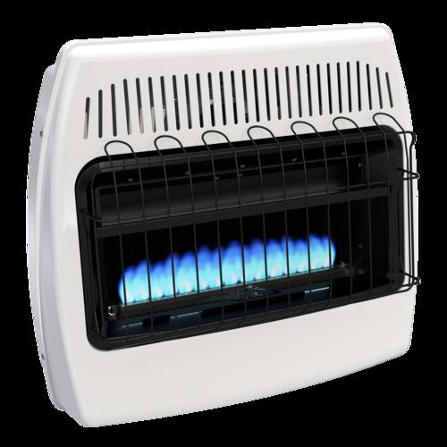 Dyna Glo 30 000 Btu Dual Fuel Blue Flame Vent Free Wall