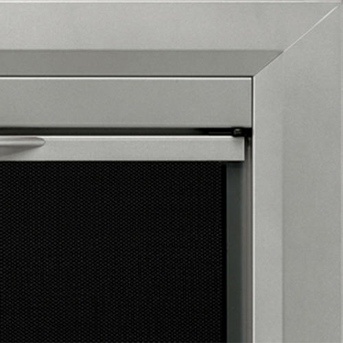 Coronet Small Cabinet Style Fireplace Door At Menards