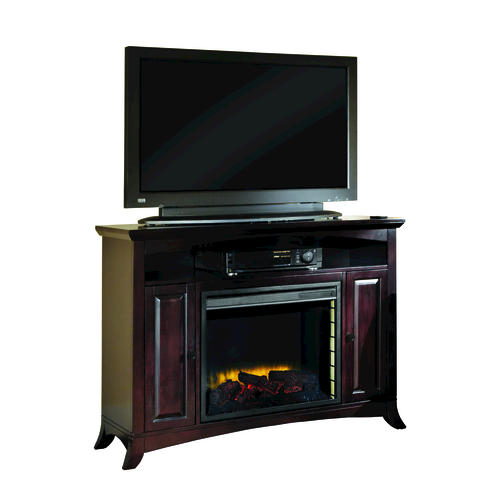 Taylor Merlot Media Electric Fireplace With Remote At Menards
