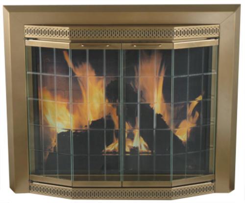 Grandior Bay Medium Bi Fold Bay Style Fireplace Door At