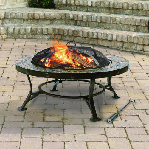 menards fire pit 34 inch slate top pit at menards 174 11080