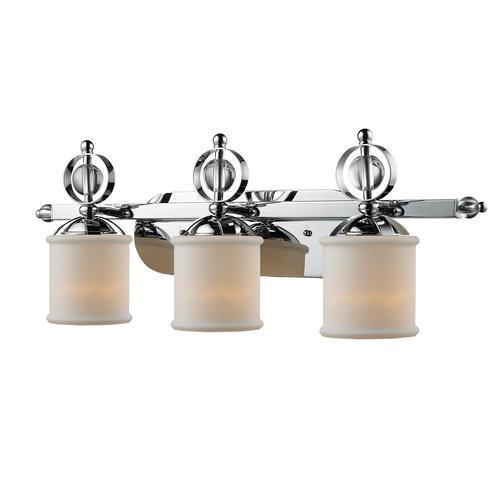 patriot lighting valerie 29 5 chrome 3 light vanity at menards