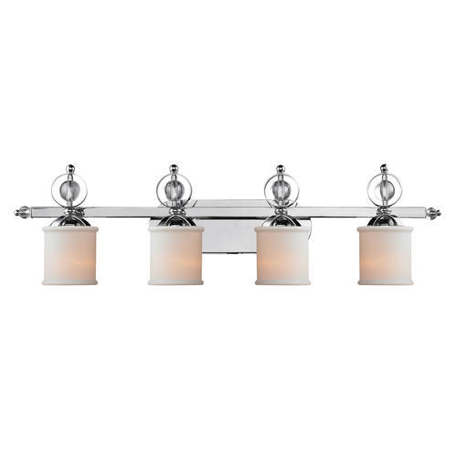 patriot lighting valerie 40 5 chrome 4 light vanity at menards