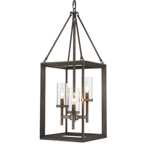 Patriot Lighting Samson 12 Gunmetal Bronze 3 Light Pendant At Menards