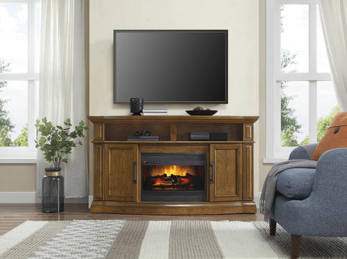 Whalen 60 Middleton Electric Fireplace Entertainment Center At