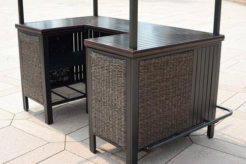 Marco Island Bar Table Base Only At Menards
