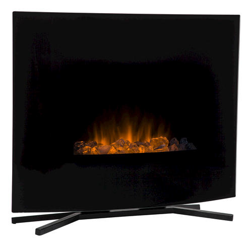 Hometech 24 Wall Mount Free Standing Electric Fireplace At Menards