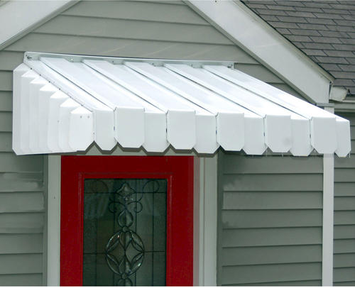 White Aluma Vent Re Aluminum Door Window Awning At Menards 174