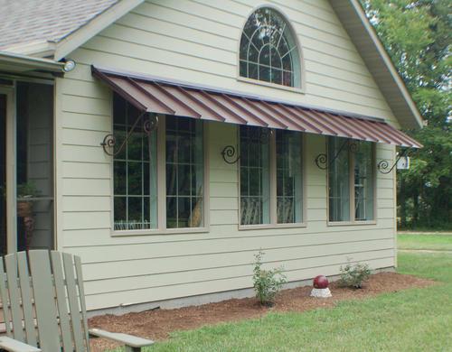 Orleans Galvalume Door/Window Awning at Menards®