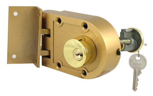 Brass Jimmy Proof Double Cylinder Deadlock At Menards