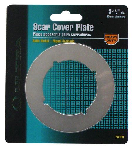 Satin Nickel Lock Scar Cover Plate At Menards 174