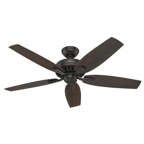 "Hunter 52"" Chatham New Bronze Ceiling Fan With Light At"