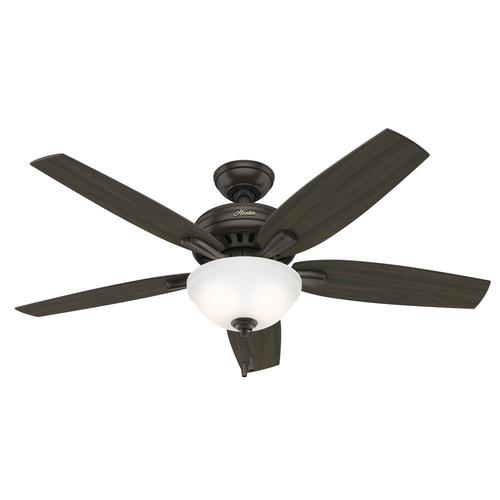 """Hunter Mccollum 52 Led Indoor Ceiling Fan At Menards: Hunter 52"""" Chatham New Bronze Ceiling Fan With Light At"""