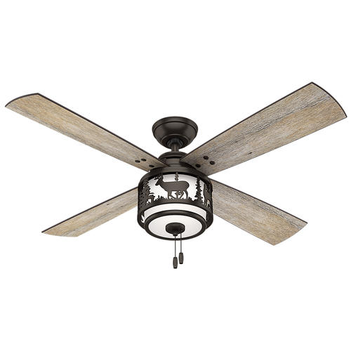 Hunter Cedar Ridge 52 Premier Bronze Ceiling Fan With