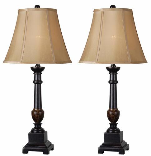 Andy 2 Pack Golden Flecked Bronze Table Lamp At MenardsR