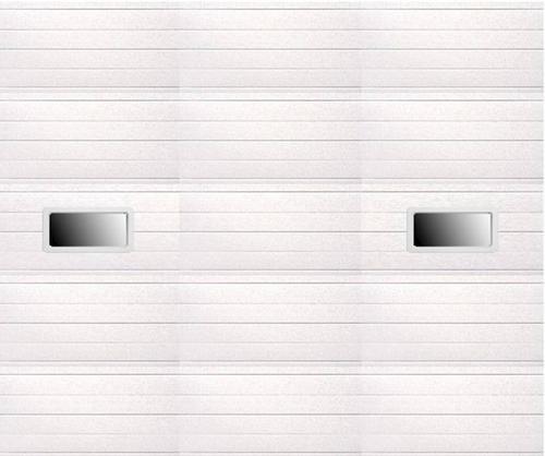 Ideal door 12 ft x 10 ft 5 star white ribbed 2 lite for 12 ft garage door opener