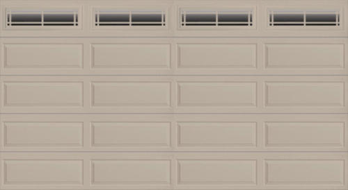 Ideal door prairie 16 ft x 8 ft 4 star sandtone insul for 16x8 garage door prices