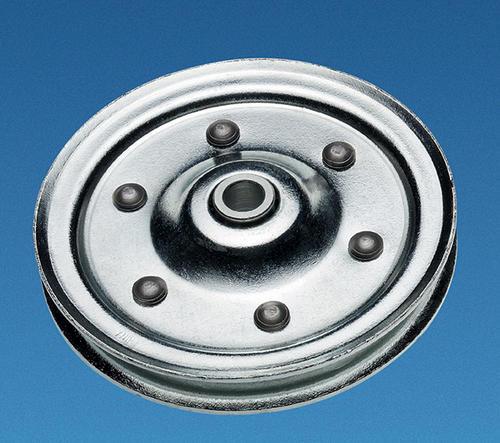 Pulleys Menards : Ideal door? quot heavy duty steel replacement pulley for