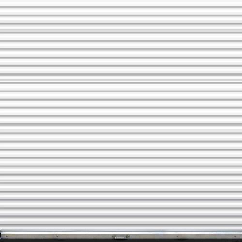 Ideal Door 174 8 Ft X 8 Ft Ribbed Model 200m Roll Up Door