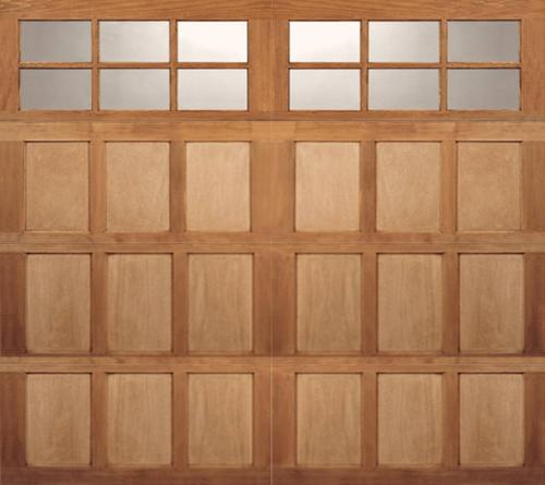 Ideal door sq23 lites carriage house wood mh3h 9 ft x 8 for 9x8 bathroom designs