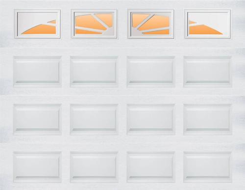 Ideal door sunrise 9 ft x 7 ft 5 star white raised pnl for Bathroom design 9x7