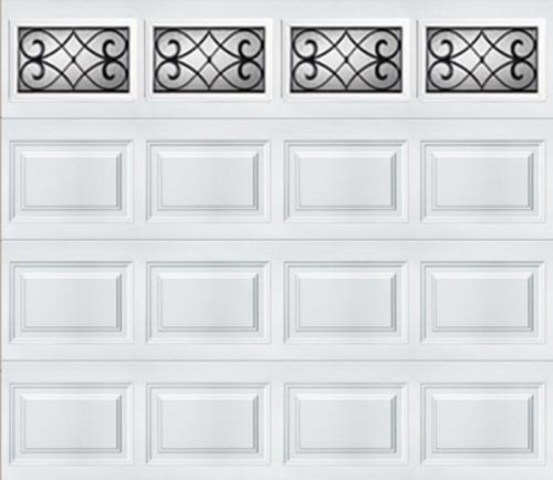 Ideal door 9 ft x 7 ft 5 star white tuscany short pnl for Bathroom design 9x7