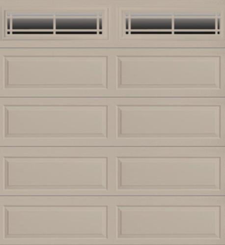 Ideal door prairie 9 ft x 8 ft 4 star sandtone insul for 14 foot garage door prices