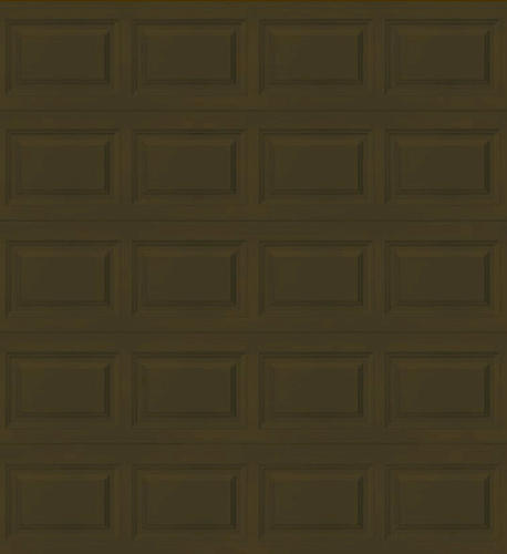 Ideal door 9 ft x 8 ft 5 star chocolate raised pnl for 9x8 bathroom designs