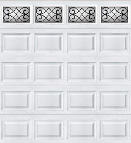 Ideal door 9 ft x 8 ft 5 star white tuscany short pnl for 9x8 bathroom designs