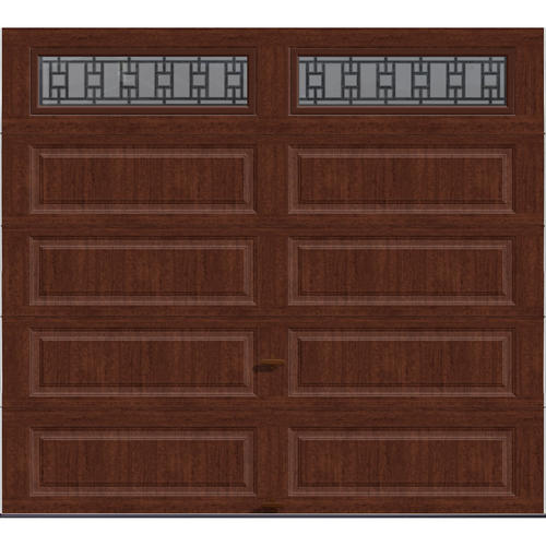 Ideal door 9 ft x 8 ft 5 star cherry finish trenton for 9x8 bathroom designs