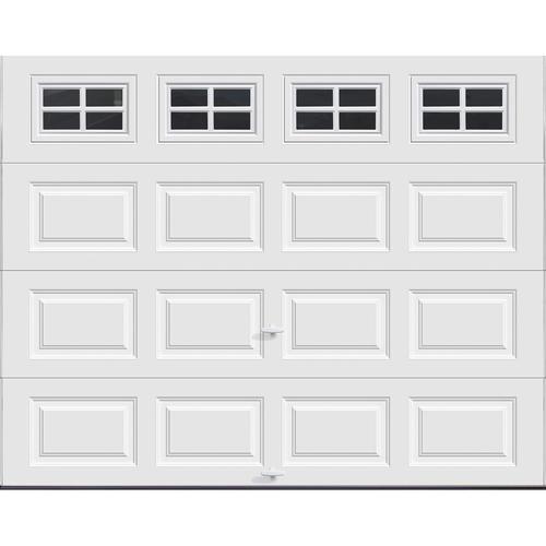 Ideal door stockton 9 ft x 7 ft 5 star white raised pnl for Bathroom design 9x7