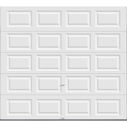 Ideal door 9 ft x 8 ft 5 star white insul ez set for 9x8 bathroom designs