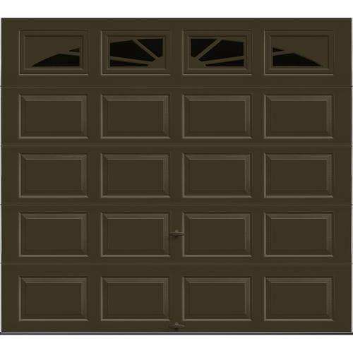 Ideal door 9 ft x 8 ft 4 star chocolate sunrise raised for 18 ft x 8ft garage door
