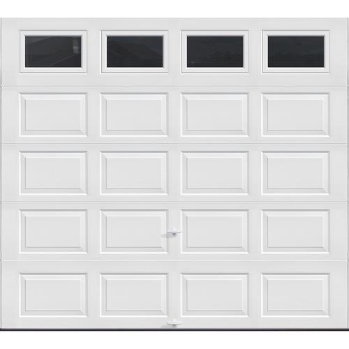 Ideal door 9 ft x 8 ft 4 star white plain lite raised for 9x8 bathroom designs