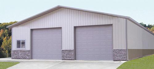 Ideal door 9 ft x 8 ft 4 star sandtone raised pnl for 14 foot garage door prices