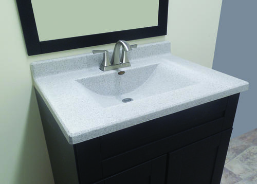 Double Wave Bowl Vanity Tops : Imperial quot ventana wave bowl at menards