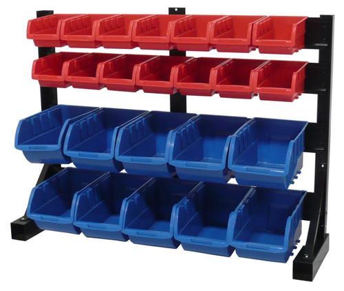 24 Bin Bench Top Parts Storage Rack At Menards 174