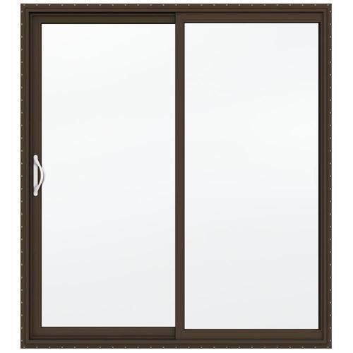 JELD WEN Builders Series Low E 366 Left Hand Vinyl Sliding Patio Door At Mena