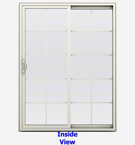 Jeld Wen Builders Series 10 Lite Vinyl Right Hand Sliding