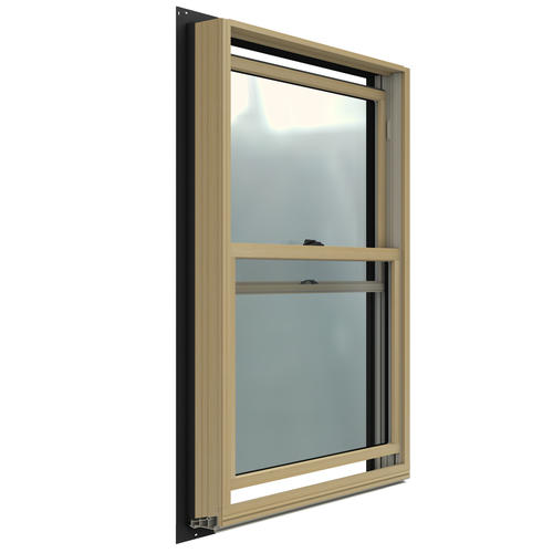 Jeld Wen W2500 Low E Aluminum Clad Wood Double Hung Window