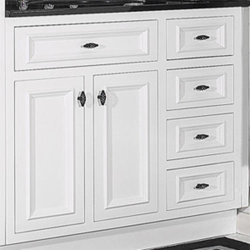 Jsi 36 Rta White Inset Vanity With 3 Rh Drawers At Menards